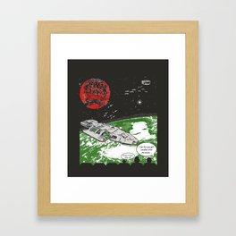 Mystery Space Theater:  BSG Edition Framed Art Print