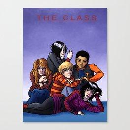 The Class Breakfast Club Canvas Print