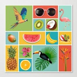 Summer Panopticum Canvas Print