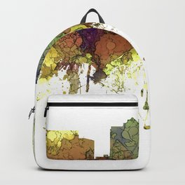 Milwaukee, Wisconson Skyline SG - Safari Buff Backpack