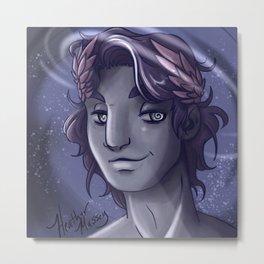 Hypnos God of Sleep Metal Print