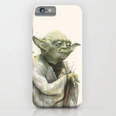 Yoda Jedi Portrait Sci-Fi iPhone 6s Slim Case