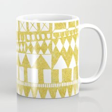 Golden Doodle abstract Mug