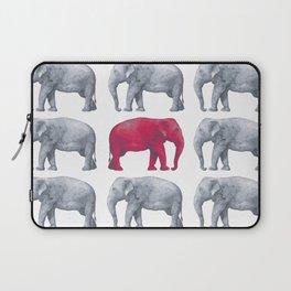 Elephants Red II Laptop Sleeve