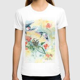 Hummingbirds Secret Garden T-shirt