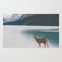 Bowman Lake Visitor Rug