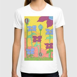 Sunshine Garden Bohemian Art T-shirt