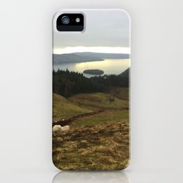 Sheep tour iPhone Case