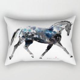 Horse (Trotting Elegance) Rectangular Pillow