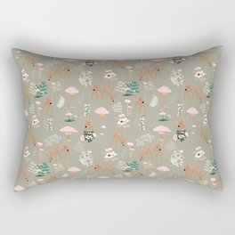Forest Awakens to Spring Rectangular Pillow