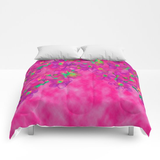 Cherry Blossom #2 Comforters