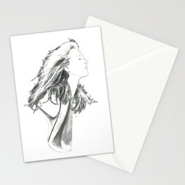 "Meryl Streep Drawing: ""Guardian Of The Press"" (2017) Stationery Cards"