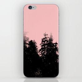 pale woods iPhone Skin