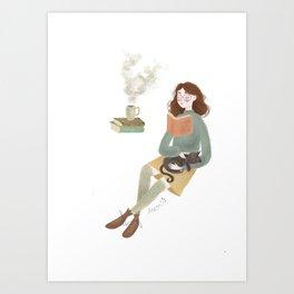 Cosy Art Print