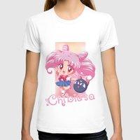 chibi T-shirts featuring Chibi Chibiusa by Neo Crystal Tokyo