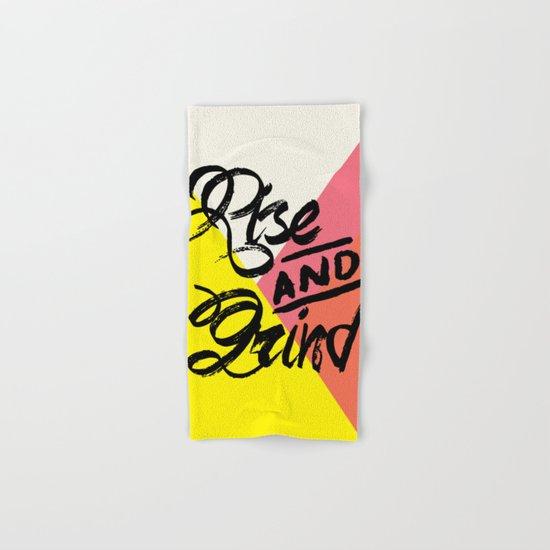 Rise & Grind Hand & Bath Towel