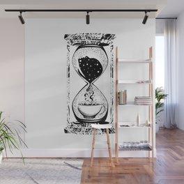 Morning coffee hourglass Wall Mural