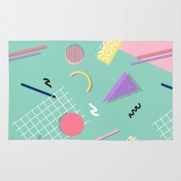 Dreaming 80s Pattern #society6 #decor #buyart Rug