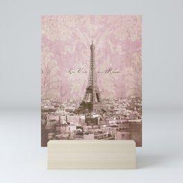 romantic Paris Mini Art Print