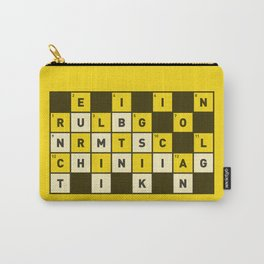 Religion numbs critical thinking  Carry-All Pouch