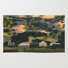 Regusci Winery - Napa Valley Rug
