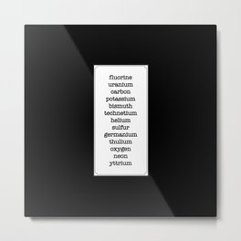 Get Money Metal Print