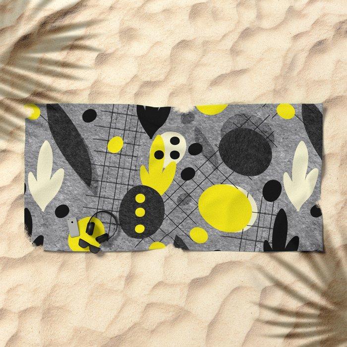 CONCRETE MEMPHIS Beach Towel