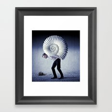 The Weight of Life Framed Art Print