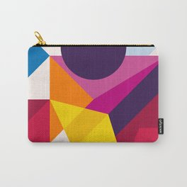 Abstract modern geometric background. Composition 8 Carry-All Pouch