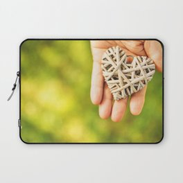 st. valentine heart shape for charity Laptop Sleeve