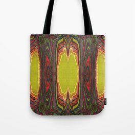 Potency of the Nectar (Secret Message) (Reflection) Tote Bag