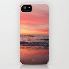 Blushing Sky iPhone Case