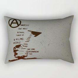 Anarchy Isn't... Rectangular Pillow
