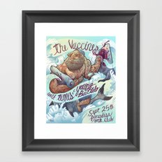The Vaccines (band poster) Framed Art Print