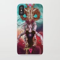 occult iPhone & iPod Cases featuring Occult allegory by Kami-katamari