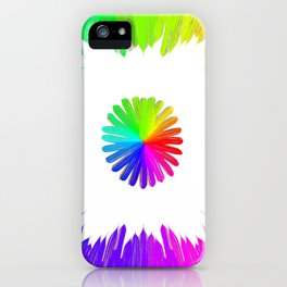Circle of life (white) iPhone Case