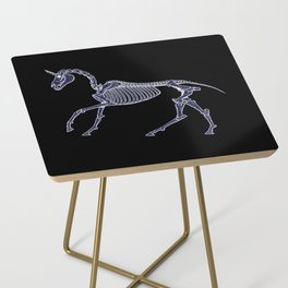 Unicorn Fossil Side Table