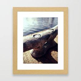 Boat Cleat  Framed Art Print