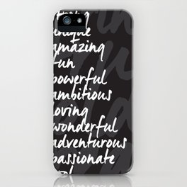 It's All You! iPhone Case