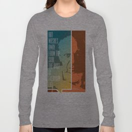 Picasso – Genius Quotes Long Sleeve T-shirt