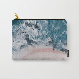 I love the sea - written on the beach Carry-All Pouch