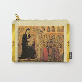 Saint Mary Religious Scene - Gothic Carry-All Pouch