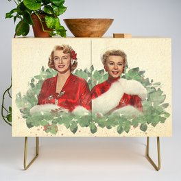 Sisters - A Merry White Christmas Credenza