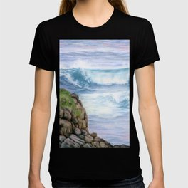Cliff By The Sea T-shirt