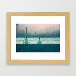 Hy my love.. Framed Art Print