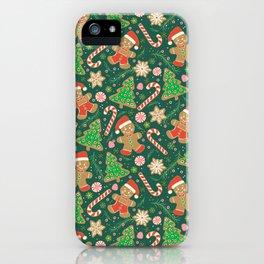 Gingerbread Men iPhone Case