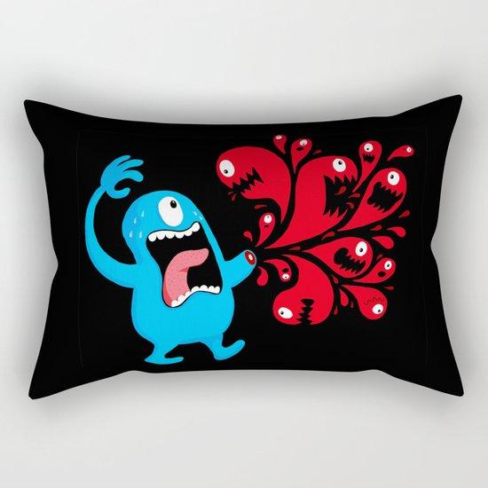 Bloody Hell Rectangular Pillow