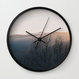 North Georgia Mountains 5 Wall Clock
