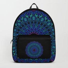 Tribal Manta Mandala Backpack