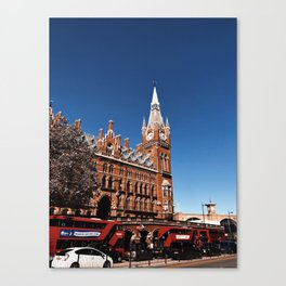 Sunny London Canvas Print